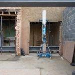 custom home in dallas under construction